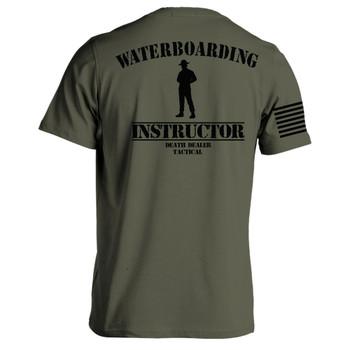 WATERBOARDING INSTRUCTOR T-SHIRT OD XL, UPC :616086526305