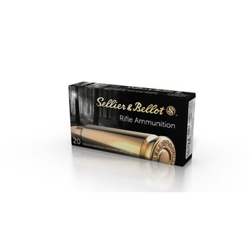 Sellier & Bellot 5.6x52R Ammo, UPC :754908510085