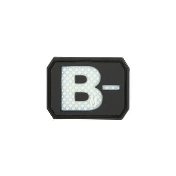 B- NEG Blood Type Patch, UPC :846909013235