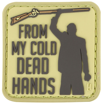 Cold Dead Hands 1.5  x 1.5  (Arid), UPC :846909018605