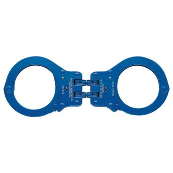 850CN Colored Hinged Handcuff, Navy, UPC :817086010805