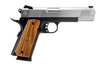 """American Classic 1911, Full Size, 45ACP, 5"""" Barrel, Duo Tone Finish, Wood Grips, Fixed Sights, 1 Magazine, 8 Rounds AC45G2DT, UPC :728028155723"""