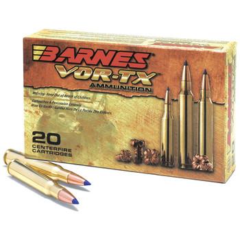 Barnes VOR-TX, 270WIN, 130 Grain, Tipped Triple Shock X, Boat Tail, Lead Free, 20 Round Box 21524, UPC :716876027033