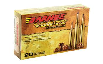 Barnes VOR-TX, 7MM REM, 140 Grain, Tipped Triple Shock X, Boat Tail, Lead Free, 20 Round Box 21526, UPC :716876028443