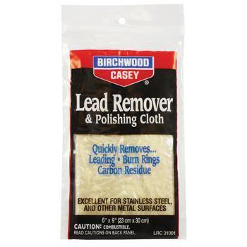 "Birchwood Casey Polishing Cloth, 6"" x 9"", Lead Remover 31002, UPC : 029057310023"