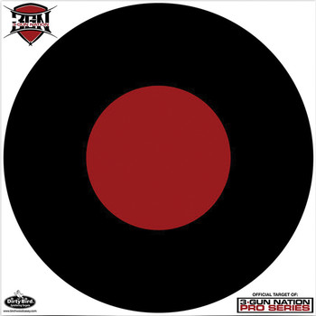 "Birchwood Casey Dirty Bird Target, 3- Gun Nation, 17.25"", 5 Targets 35187, UPC : 029057351873"