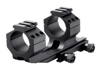 Burris AR Tactical Proper Eye Position Ready Mount (PEPR), 30mm, Aluminum, With Picatinny Tops, Matte Finish 410341, UPC : 000381103413