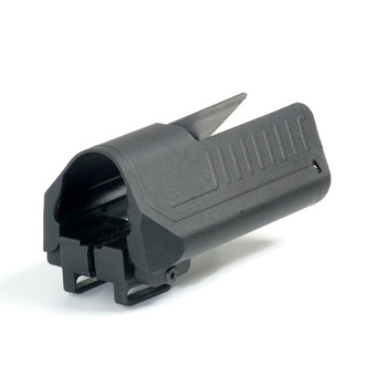 CAA Side Saddle Cheekpiece & Storage for Collapsible Stock, Black SST1, UPC :814716010983