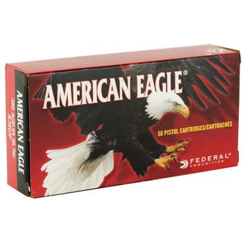 Federal American Eagle, 380ACP, 95 Grain, Full Metal Jacket, 50 Round Box AE380AP, UPC : 029465088033