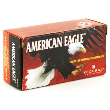 Federal American Eagle, 22LR, 40 Grain, Lead, 50 Round Box AE5022, UPC : 029465016913