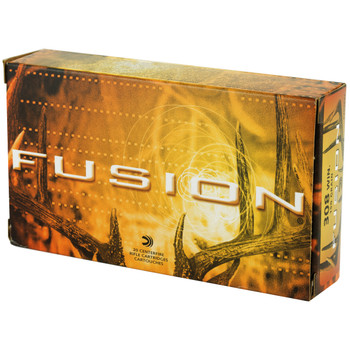 Federal Fusion, 308WIN, 150 Grain, Boat Tail, 20 Round Box F308FS1, UPC : 029465097943