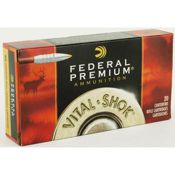 Federal Vital-Shok, 300 WIN MAG, 180 Grain, Bonded, Hollow Point, 20 Round Box P300WTT1, UPC : 029465099473