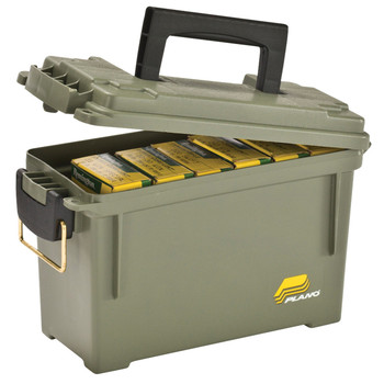 Plano Ammunition Can, Hard Case, OD Green Finish, 6/Pack 131200, UPC : 024099013123