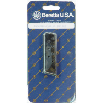 Beretta Magazine, 25 ACP, 8Rd, Fits Model 950, Blue Finish JM955, UPC : 082442013183