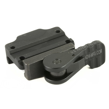 American Defense Mfg. Mount, Fits Trijicon MRO, Low, Tactical, Quick Release, Black Finish AD-MRO-L TAC R, UPC :818503019753