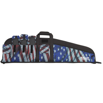 """Allen Victory Tactical Single Rifle Case, 42"""", AmericanFlag Finish, Endura Fabric 1062, UPC : 026509010623"""