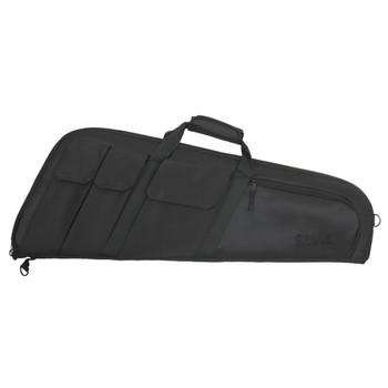 "Allen Wedge Tactical Rifle Case, Black Endura Fabric, 32"", Thick Foam Padding, Lockable 10901, UPC : 026509109013"