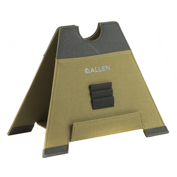 "Allen Allen, Alpha-Lite Folding Gun Rest, Tan, Size Tall/8"", Slip Resistant Base, Lightweight 18407, UPC : 026509020103"