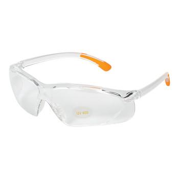 Allen Shooting Glasses, Clear/Orange Finish 22753, UPC : 026509227533