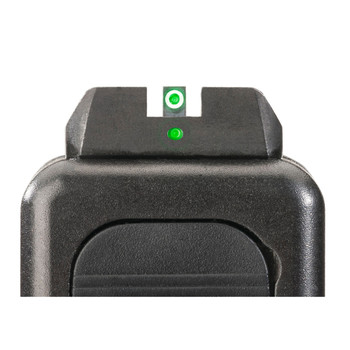 AmeriGlo I-Dot 2 Dot Sights for Glock 20,21,29,30,31,32,36, Green with White Outline, Front and Rear Sights GL-102, UPC :644406902843