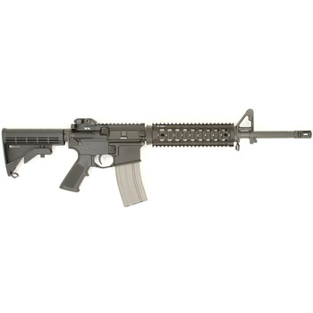 """Bravo Company MID-16 Mod 2, Semi-automatic, 223 Rem/556NATO, 16"""" Barrel, 1:7 Twist, Mid-length Gas System, Black Finish, BCM Mod 0 Stock, BCM Mod 3 Pistol Grip, Mil-Spec F-Marked Forged Front Sight, 30Rd, BCM Mod 4 Charging Handle, Tactical Aluminum"""