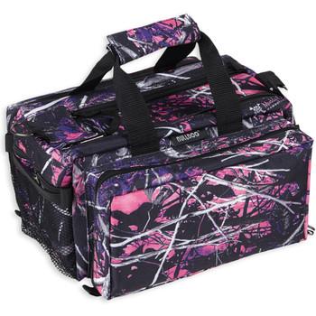 Bulldog Cases Deluxe Range Bag, Muddy Girl Camo Finish, Nylon, Adjustable Shoulder Strap BD910MDG, UPC :672352009033