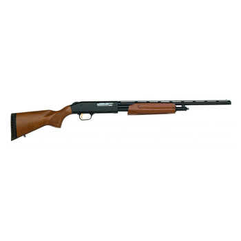 "Mossberg 505 Youth, Pump Action, 410 Gauge, 3"" Chamber, 20"" Vent Rib Barrel, Modified Choke Only, Blue Finish, Wood Stock, Bead Sight, 4Rd 57120, UPC : 015813571203"