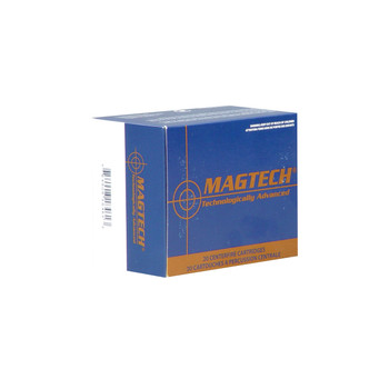 Magtech Sport Shooting, 500 S&W, 400 Grain, Semi Jacketed Soft Point, 20 Round Box 500A, UPC :754908184613