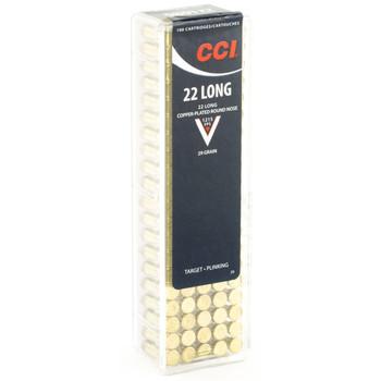 CCI/Speer 22 Long, 29 Grain, Copper Round Nose, 100 Round Box 29, UPC : 076683000293