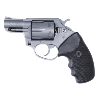 """Charter Arms Pathfinder, 22 WMR, 2"""" Barrel, Steel Frame, Stainless Finish, Rubber Grips, Fixed Sights, 6Rd, Fired Case 72324, UPC :678958723243"""