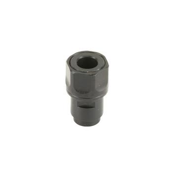 Dead Air Armament Thread Adapter, 1/2 x 28 RH, Fits Walther P22, Black Finish DA419, UPC : 043125910403