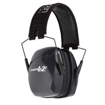 Howard Leight Leightning L2F Earmuff, Black, NRR 27, Folding R-01525, UPC : 033552015253