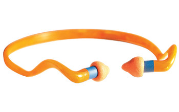 Howard Leight Quiet Band Ear Plug, Foam, Orange R-01538, UPC : 033552015383