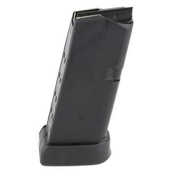 Glock OEM Magazine, 45ACP, 10Rd, Fits GLOCK 30, Finger Rest, Cardboard Style Packaging, Black Finish 3010, UPC :764503300103