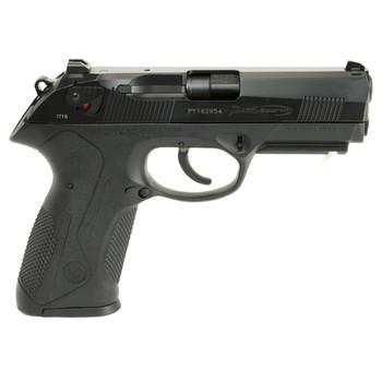 "Beretta PX4 Storm, Semi-automatic, Double Action, Full Size Pistol, 40SW, 4"" Barrel, Polymer Frame, Black Finish, 10Rd, 2 Mags, Picatinny Rail, Ambidextrous, 3 Dot Sights JXF4F20, UPC : 082442817293"