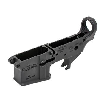 CMMG Stripped Lower Receiver, Semi-automatic, 223 Rem/556NATO, Black Finish 55CA101, UPC :852005002103