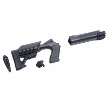 ProMag Archangel, Tactical Stock, Stock, Black, Tactical Stock, Mossberg 500/590 AA500, UPC :708279011153