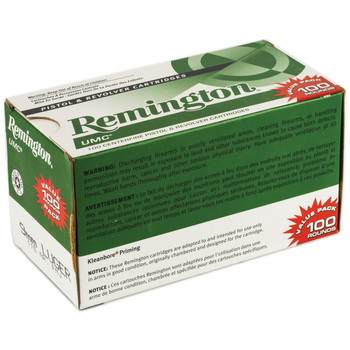 Remington UMC, 9MM, 115 Grain, Full Metal Jacket, Value Pack, 100 Round Box 23765, UPC : 047700362403