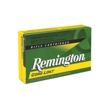 Remington Core Lokt, 270WIN, 150 Grain, Soft Point, 20 Round Box 27810, UPC : 047700053103