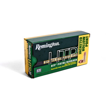 Remington High Terminal Performance, 38 Special, 125 Grain, Semi Jacketed Hollow Point, 50 Round Box 22283, UPC : 047700427003