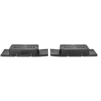 Gun Storage Solutions Soft Rubber Coated Magnets, 2 Per Strip, 2 Strips Per Package, Black MULTMAG2, UPC :856691002393