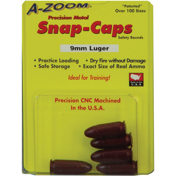 A-Zoom Snap Caps, 9MM, 5 Pack 15116, UPC :666692151163