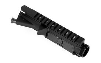LBE Unlimited Upper, Black Finish, Forward Assist/Ejection Port Cover Assembly Installed, Fits AR15 ARUPPER, UPC :784682014653