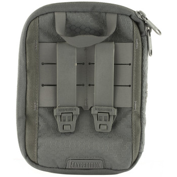 Maxpedition ERZ Everyday Organizer, Custom Molded, Has Multiple Pockets, Elastic Loops and Key Clip, Gray ERZGRY, UPC :846909021193