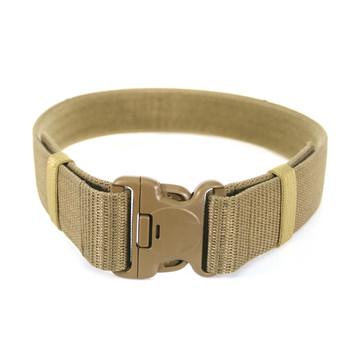 "BLACKHAWK! 2.25"" Military Web Belt (Modernized), Large (up to 43""), Coyote Tan 41WB02DE, UPC :648018004513"