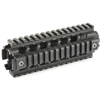 Ergo Grip Rail, Compatible with Carbine Length AR with Piston System, Hard Anodized Aluminum, Black 4811-P, UPC :874748004213