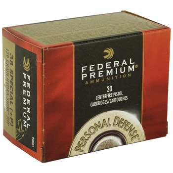 Federal Hydra-Shok, 38 Special, 129 Grain, Hollow Point, +P, 20 Round Box P38HS1, UPC : 029465088323