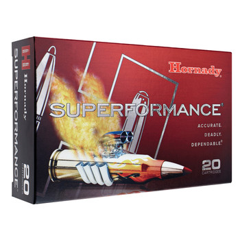 Hornady Superformance, 6.5 CREEDMOOR, 120 Grain, GMX, Lead Free, 20 Round Box 81490, UPC : 090255814903