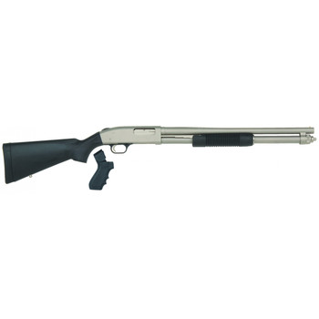 "Mossberg 590 Mariner, Pump Action Shotgun, 12 Gauge, 3"" Chamber, 20"" Cylinder Barrel, Marinecote Finish, Synthetic Stock, Bead Sight, 8Rd, includes Pistol Grip 50299, UPC : 015813502993"