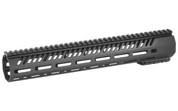 """Mission First Tactical Tekko, MLOK Rail System, Fits AR Rifles, 13.5"""", Free Float, Metal, Black Finish TMARFF13MRS, UPC :814002021433"""